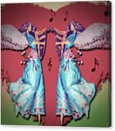 Double Angel Canvas Print