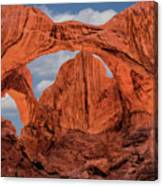 Double Arches At Arches National Park Canvas Print