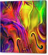 Double Bass Solo Canvas Print