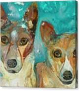 Double Bazinga Canvas Print