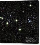 Double Cluster, Ngc 869 And Ngc 884 Canvas Print