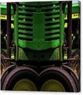 Double Green Machines Canvas Print