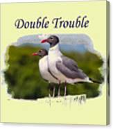 Double Trouble 2 Canvas Print