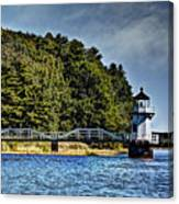 Doubling Point Lighthouse Canvas Print
