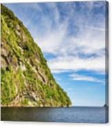 Doubtful Sound Opening To Tasman Sea Canvas Print