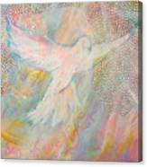 Dove Detail From Immaculate Conception Canvas Print