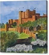 Dover Castle Kent Canvas Print