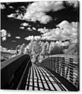 Dover Slough Bridge 1 Canvas Print