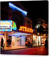 Down On Duval In Key West Canvas Print