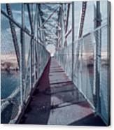 Down The Bridge Canvas Print
