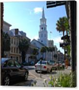 Down Town Charleston Canvas Print
