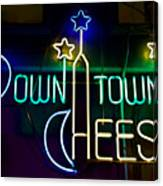 Down Town Cheese Canvas Print