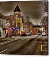 Down Town Lexington Va Canvas Print