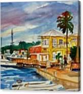 Down Town St Croix Canvas Print
