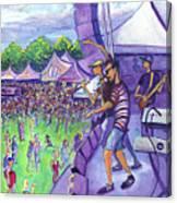 Down2funk At Arise Canvas Print