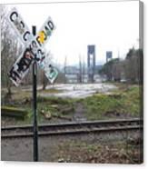 Downbound Train Canvas Print
