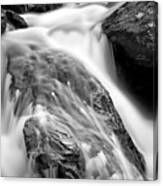 Downstream From Anna Ruby Falls Canvas Print