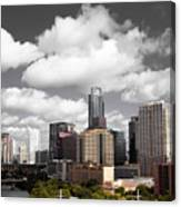 Downtown And Lake Canvas Print