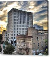 Downtown Appleton Skyline Canvas Print