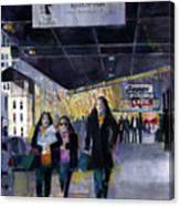 Downtown Babes Canvas Print