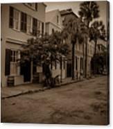 Vintage Downtown Charleston South Carolina Canvas Print