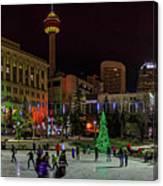 Downtown Christmas Canvas Print