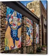 Downtown Clowns Canvas Print