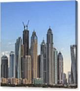 Downtown Dubai Canvas Print