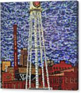 Downtown Durham Canvas Print