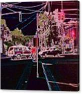 Downtown Eclipse Canvas Print
