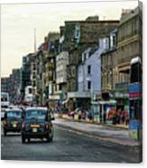 Downtown Edinburgh  Canvas Print