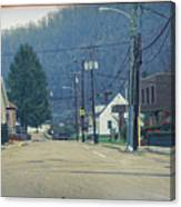 Downtown Harlan Canvas Print
