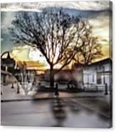 Downtown Hdr Atchison Canvas Print