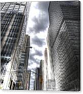 Downtown Hdr Canvas Print