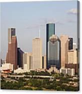 Downtown Houston Skyline Canvas Print