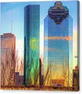 Downtown Houston Texas Skyline  Canvas Print