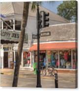 Downtown Key West Canvas Print