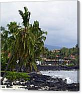 Downtown Kona Canvas Print