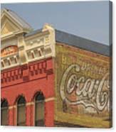 Downtown Livingston Montana Canvas Print