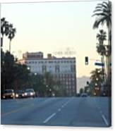 Downtown Los Angeles 0686 Canvas Print
