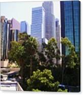 Downtown Los Angeles. 6th Street Canvas Print