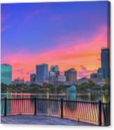 Downtown Orlando Florida  Canvas Print