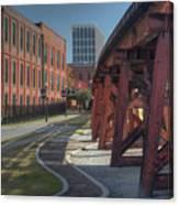 Downtown Paradox Canvas Print