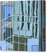 Downtown Reflections Canvas Print
