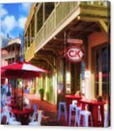 Downtown Rosemary Beach Florida # 2 Canvas Print