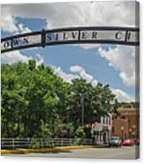 Downtown Silver City Canvas Print