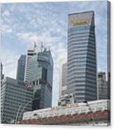 Downtown Singapore Canvas Print
