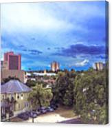 Downtown Skies Canvas Print