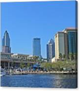 Downtown Tampa-2 Canvas Print