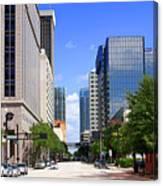 Downtown Tampa Fl, Usa Canvas Print